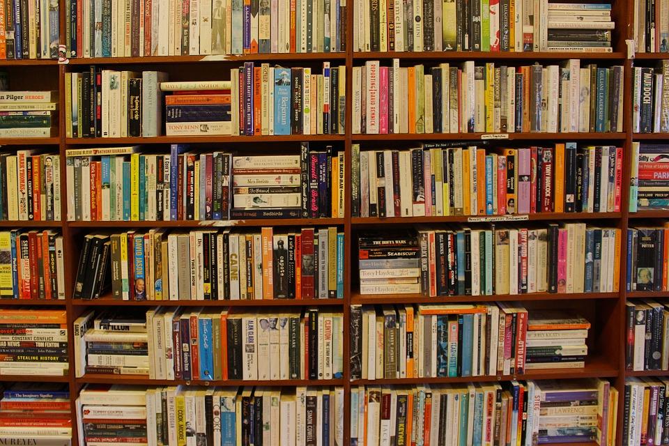 Books Shelf free photo literature books bookshelf shelf library bookcase - max