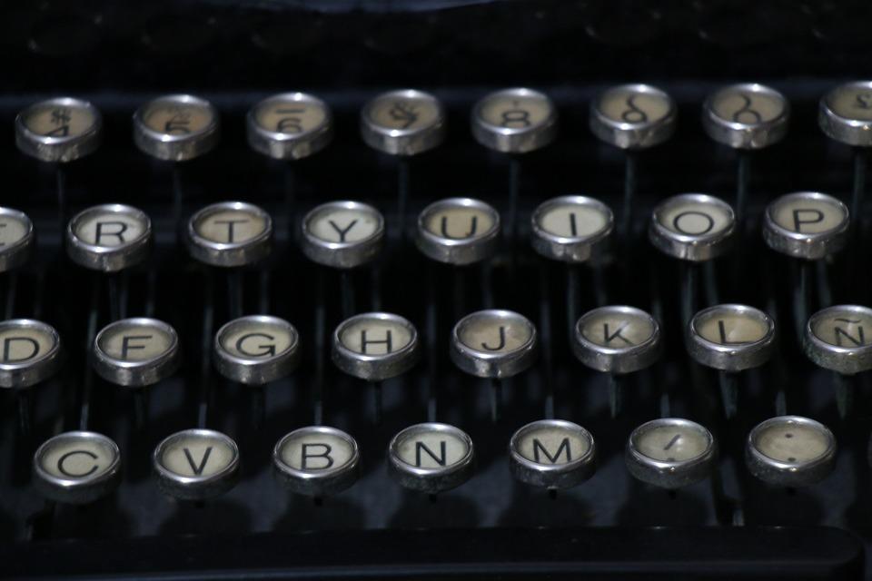 Lyrics, Typewriter, Text, To Write, Literature