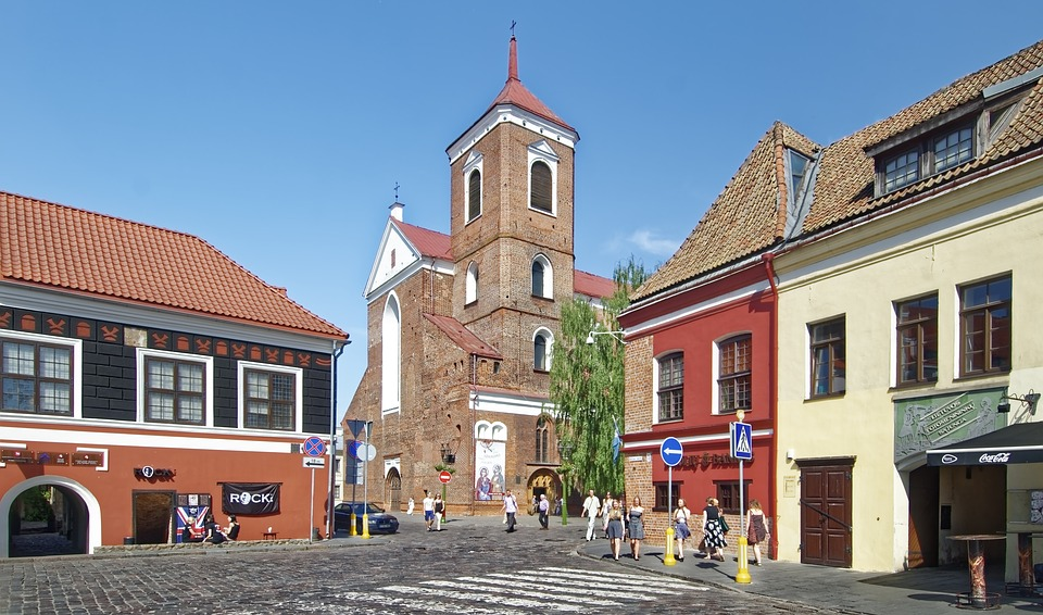 Lithuania, Cathedral Of St, Peter And Paul