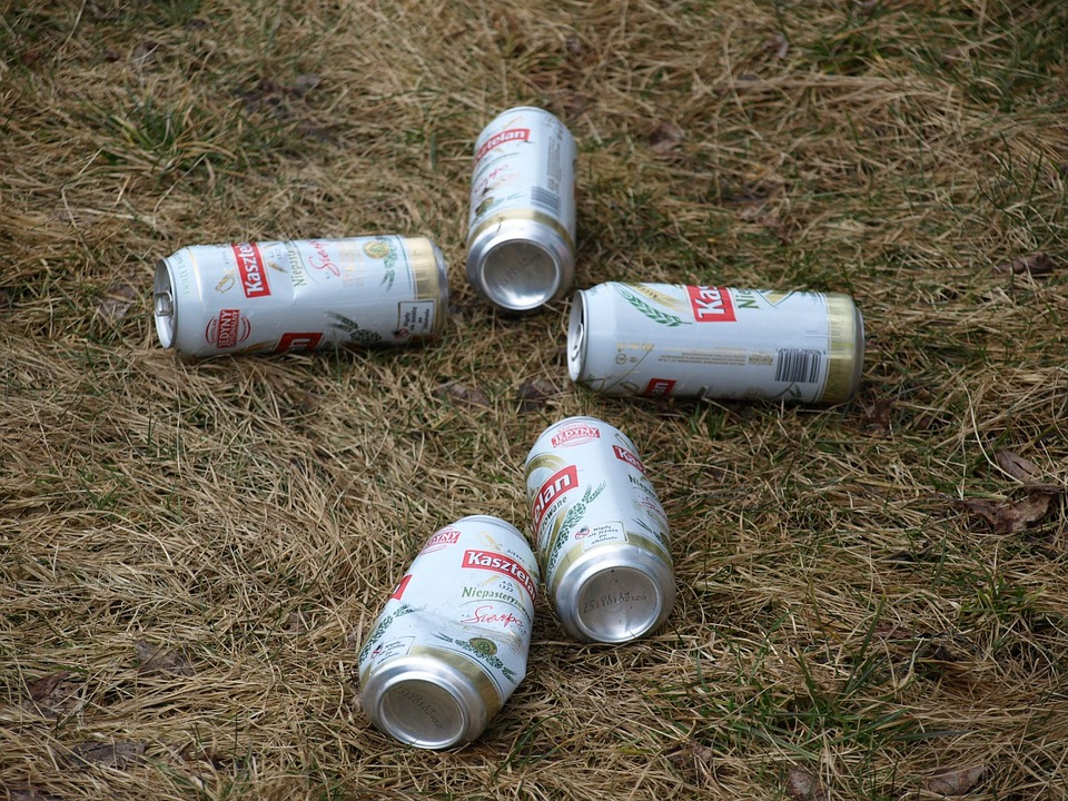 Beer, Cans, Litter, Rubbish, Aluminium, Ecology