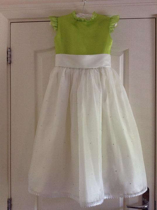 Wedding, Little Bride's Dress, Front