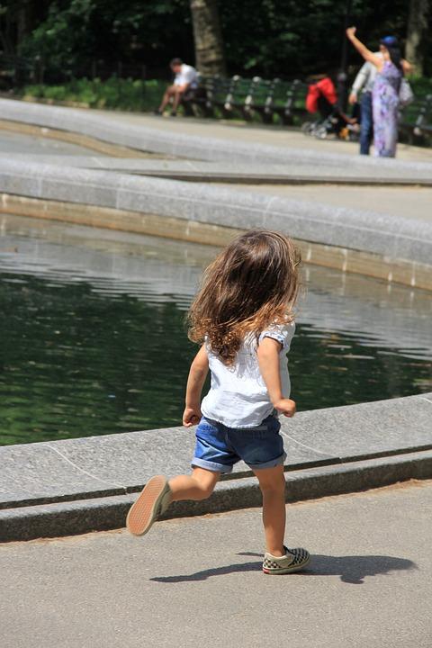 Kid, Run, Little Girl