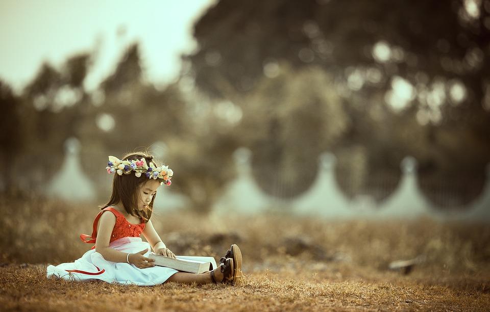 Child, Asian, Book, Read, Reading, Girl, Little Girl