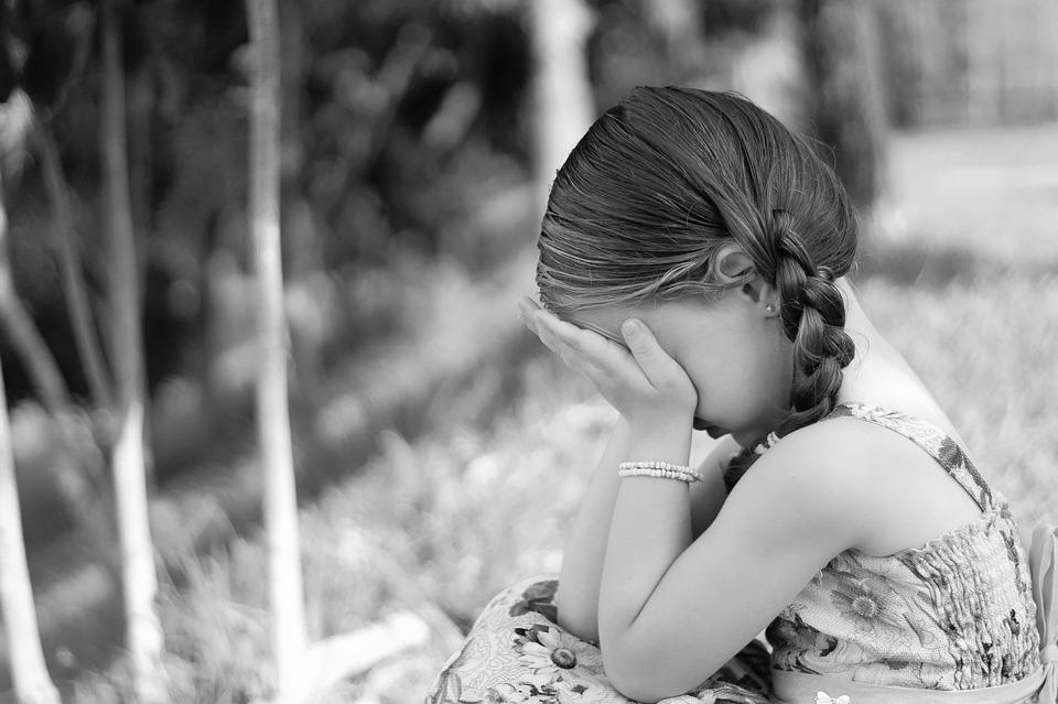 Sadness, Cry, Expression, Little Girl