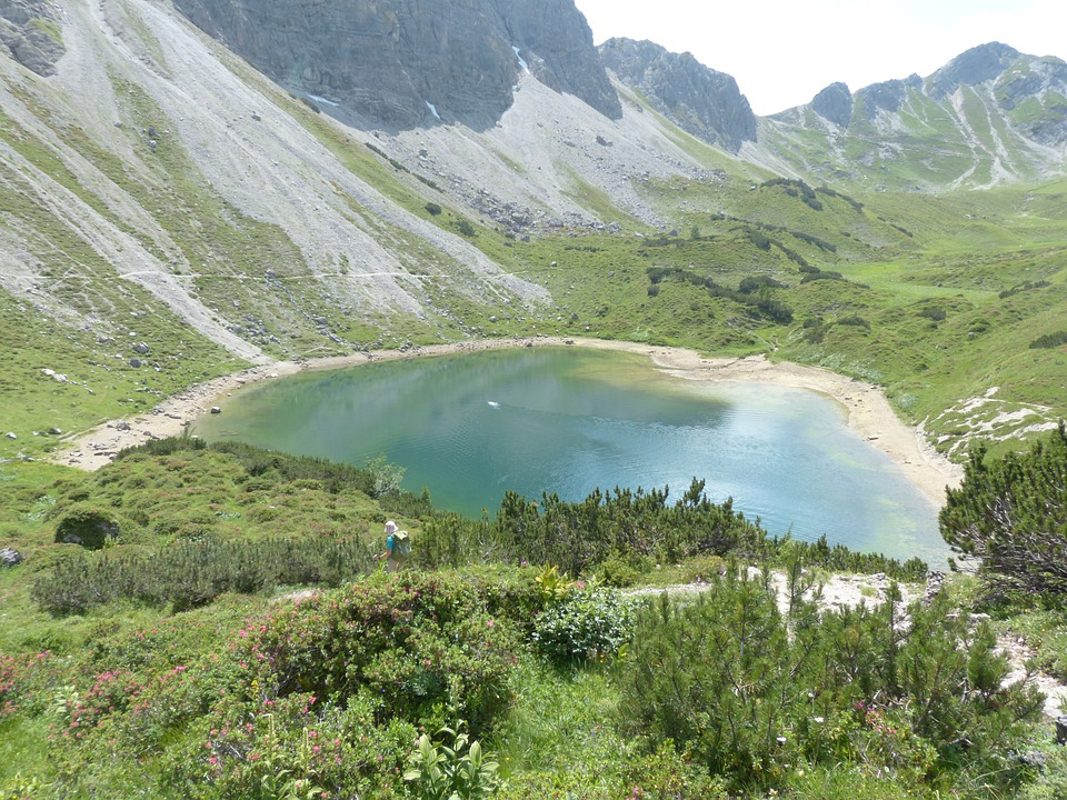 Pool, Lake, Little Lake, Bergsee, Alpine Lake, Water