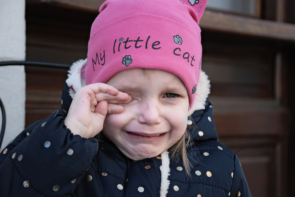 Free Photo Little Portrait Babe Tears People Crying Baby