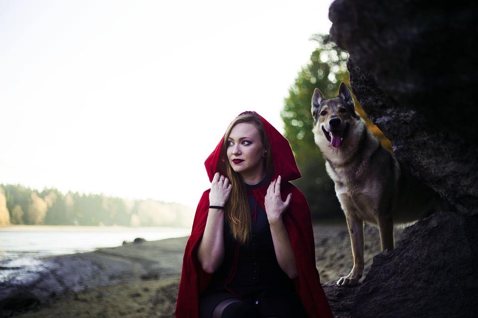 Girl, Little Red Riding Hood