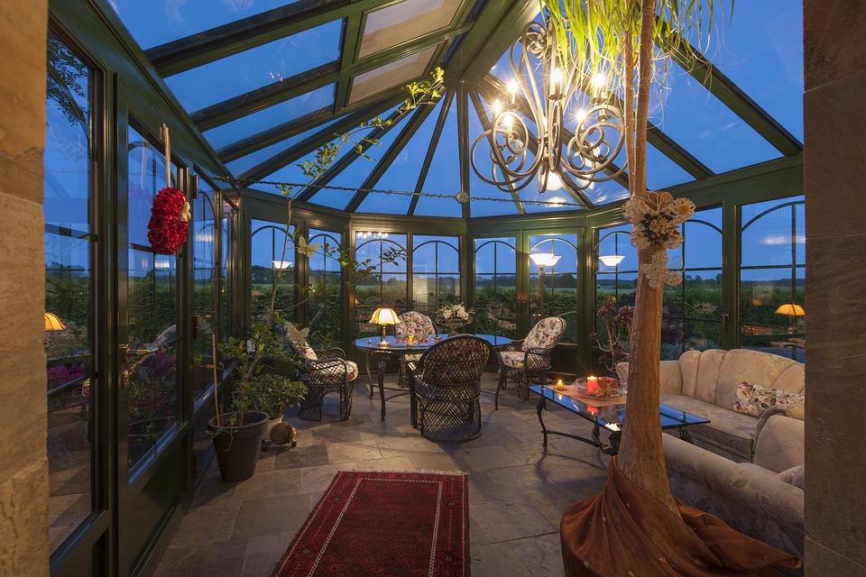 Winter Garden Glass Canopy Home Garden Living Room & Free photo Living Room Home Garden Glass Winter Garden Canopy ...