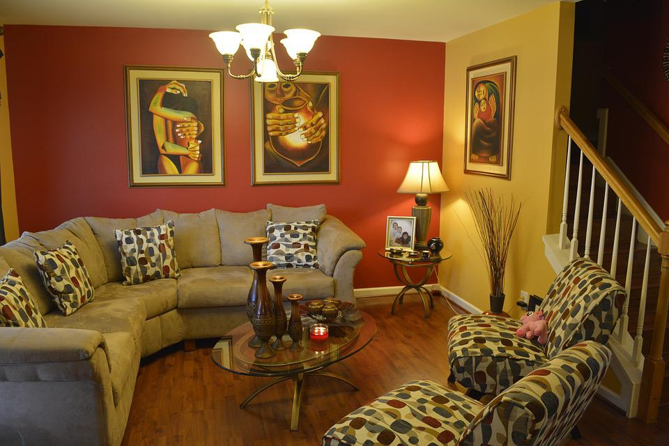 Living Room, Colorful, Colors, Living Room Interior