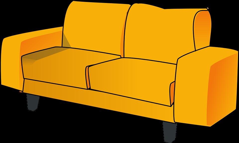 Sofa, Couch, Furniture, Lounge, Livingroom, Living Room