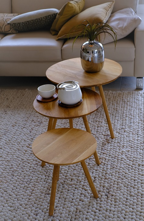 Living Room Table, Living Room, Table, Bedside Table