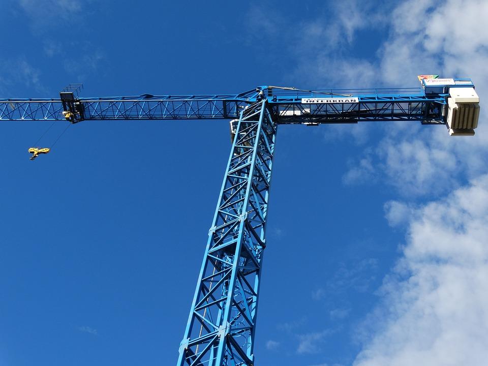 Crane, Load Crane, Skyward, In The Height, Sky, Baukran