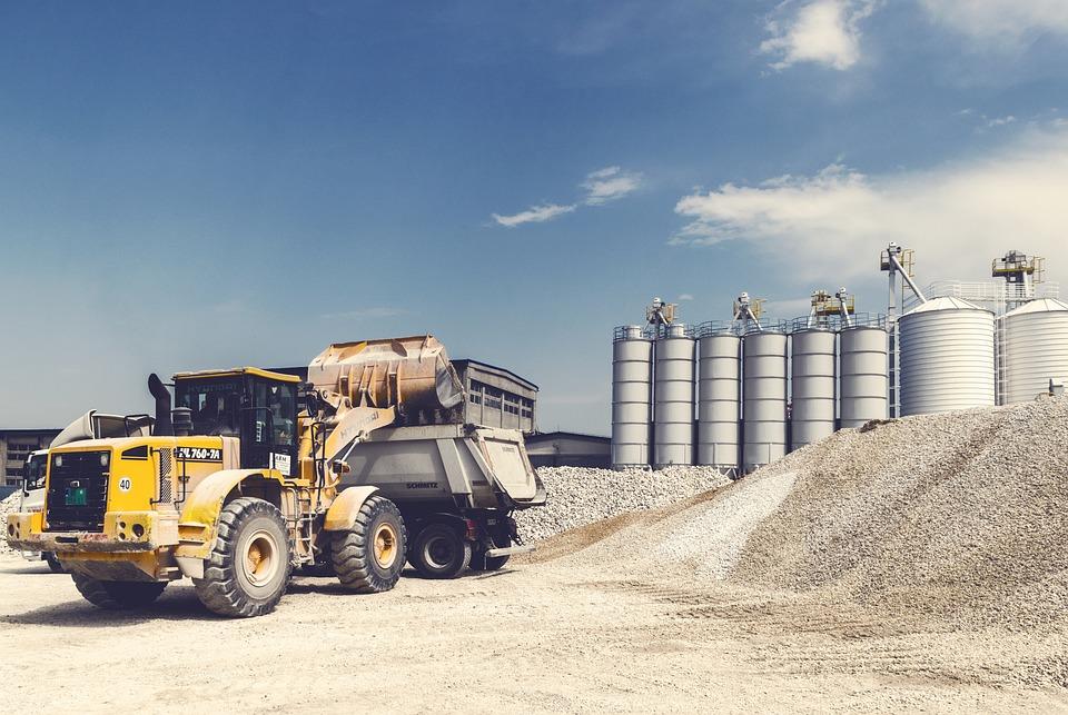 Loader, Gravel, Digger, Excavator, Heavy