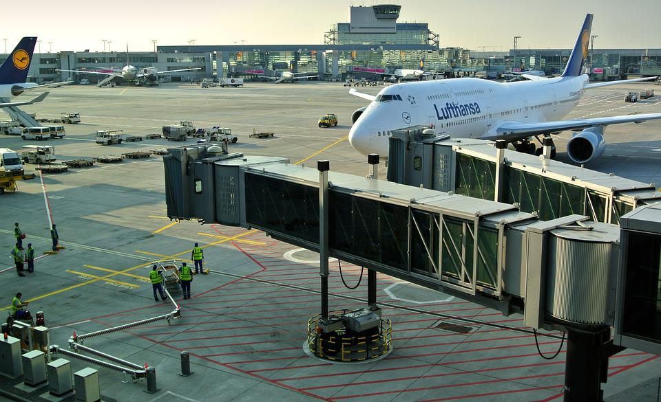 Airport, Terminal, Clearance, Loading, Travel