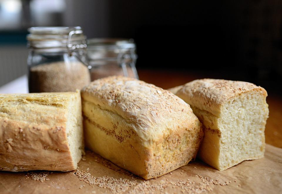 Bread, Loaf, White Bread, Baked, Food, Baked Goods