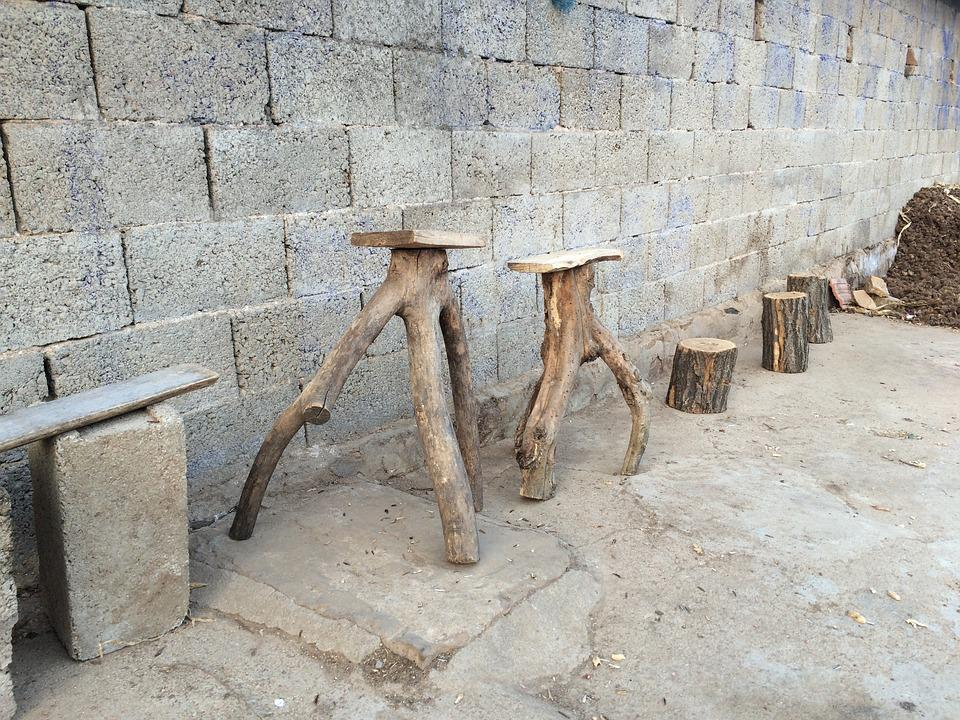 Wooden Chairs, Handmade, Simple, Local, Journal