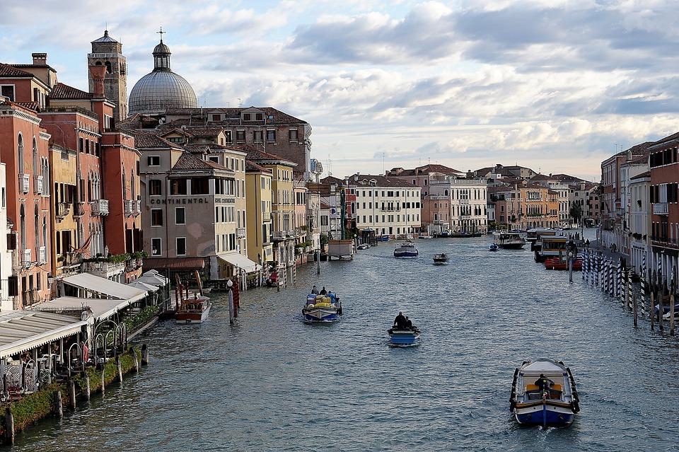 Venice, Localities, Venezia, Waterway, Italy, Gondola