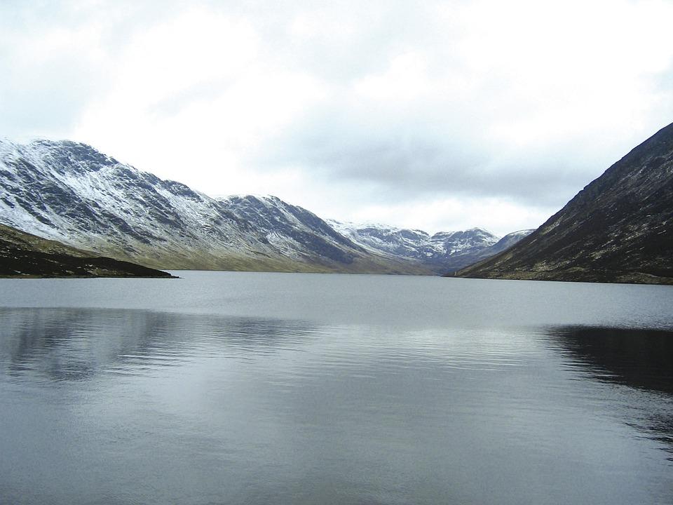 Loch Turret, Crieff, Comrie, Perthshire, Loch, Water