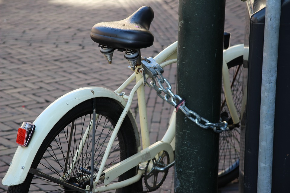 Bicycle, Lock, Bike Lock