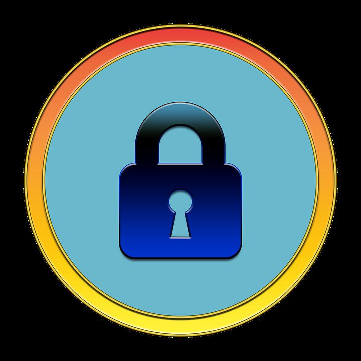 Lock, Security, Icon, Button, Media, Lock Icon