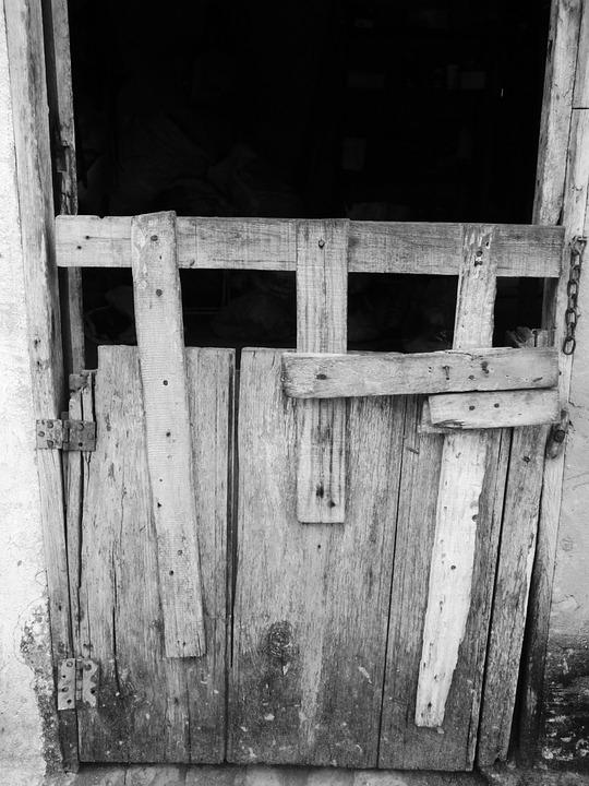 Door, Lock, Crashes, Candiado, Concierge, Gate, Old