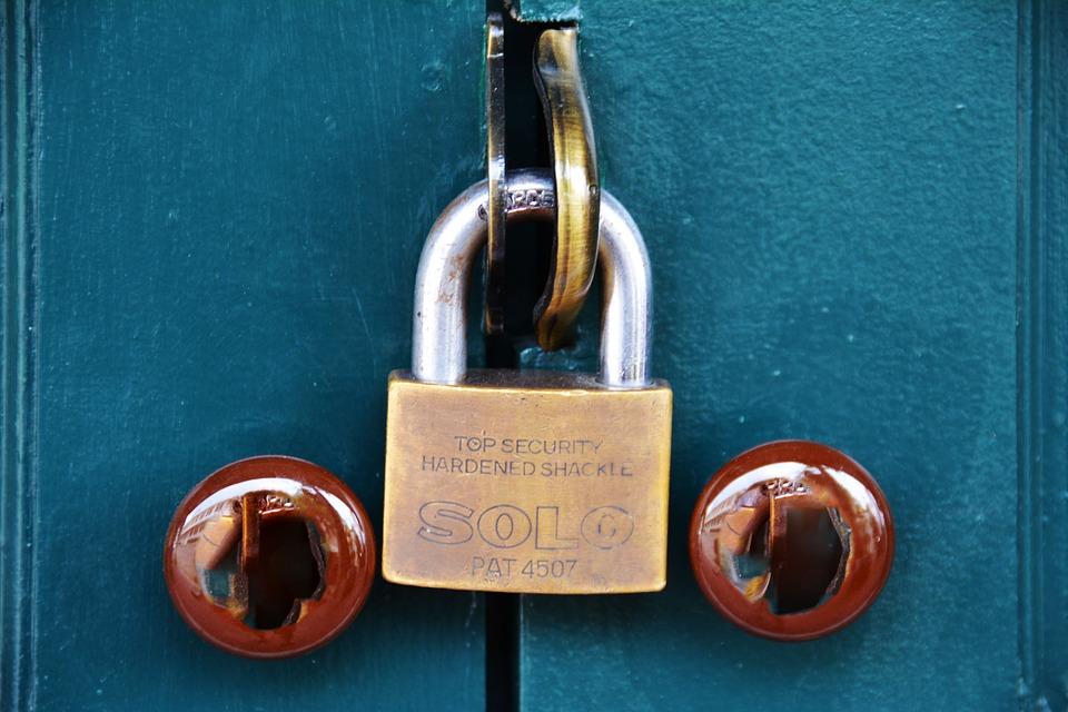 Pad Lock, Shackle, Lock, Padlock, Security, Steel