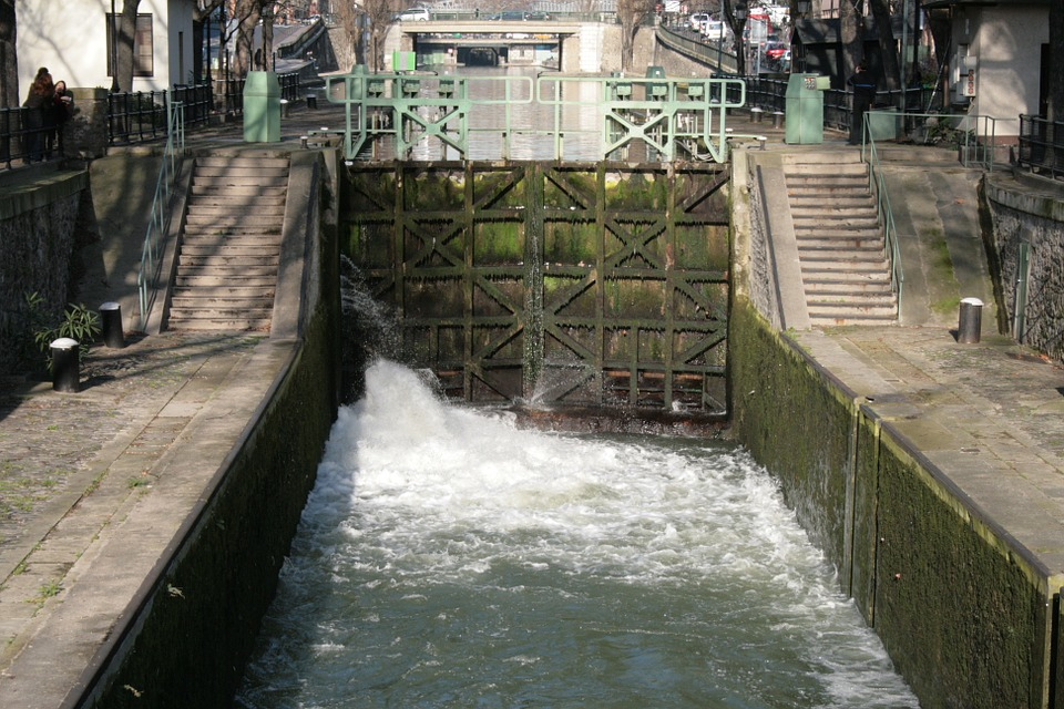 Lock, Paris, Channel