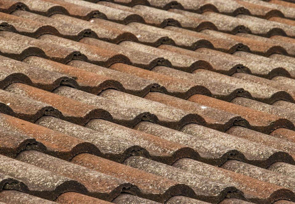 Roof, Roofing, Tiles, Maintenance, Pattern, Locked