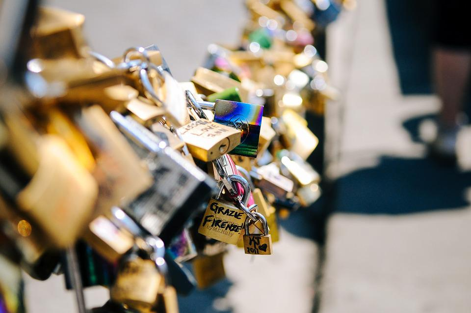 Love, Padlocks, Lockets, Romance, Chain, Valentine