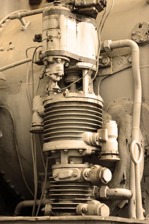 Piston, Steam Locomotive, Train, Locomotive, Loco