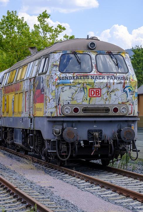 Train, Special Train, Locomotive, Loco
