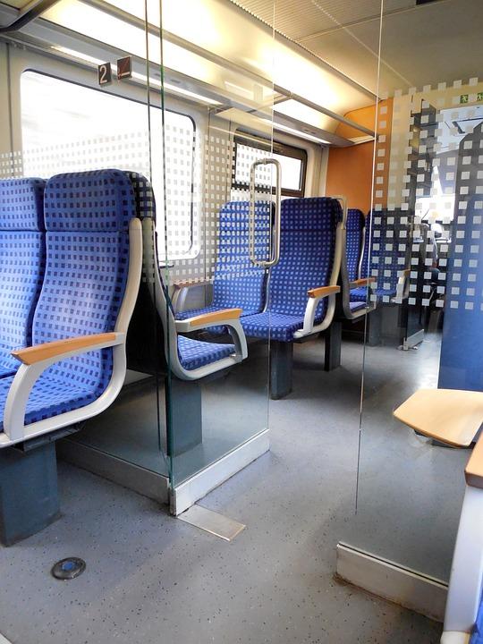 Train, Travel, Seat, Exit, Locomotion, Railway, Mobile