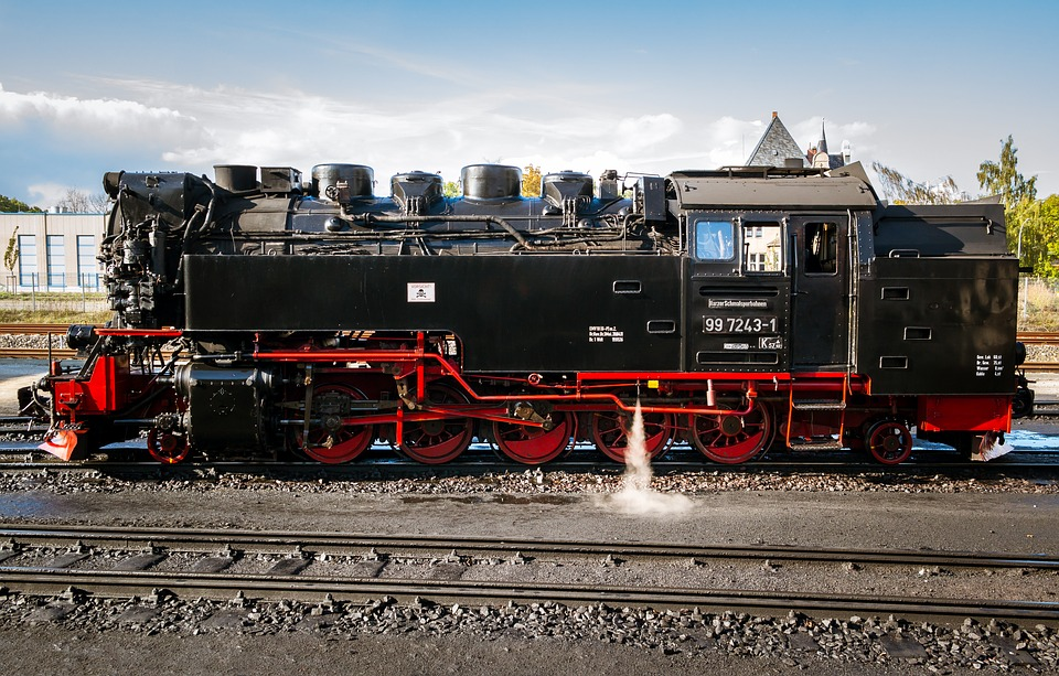 Locomotive, Loco, Steam Locomotive, Railway