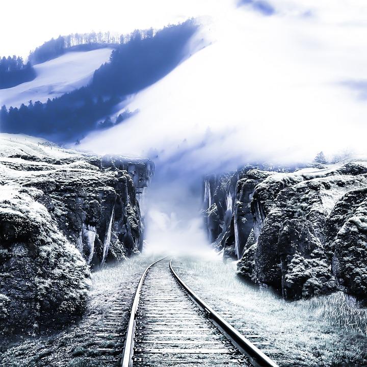 Railroad Track, Railway, Locomotive, Track, Travel