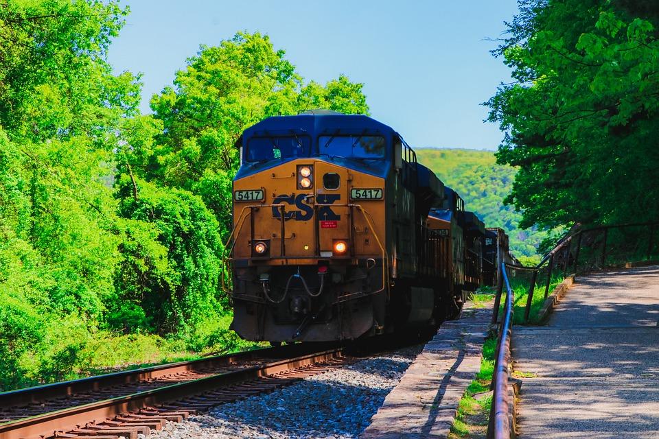 Trains, Train, Railroad, Locomotive, Cargo, Cargo Train
