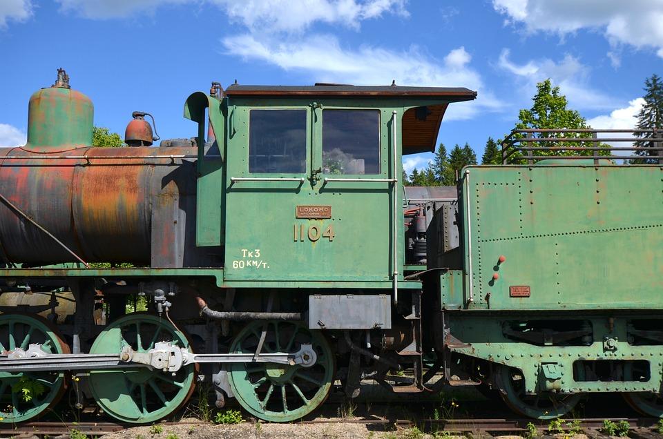 Locomotive, Old, Rust, Train, Vintage, Railway
