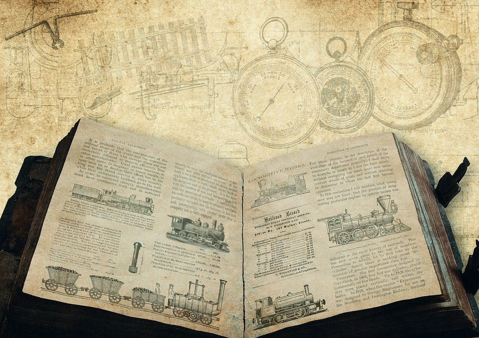 Locomotives, Book, Inventions, History, Historically