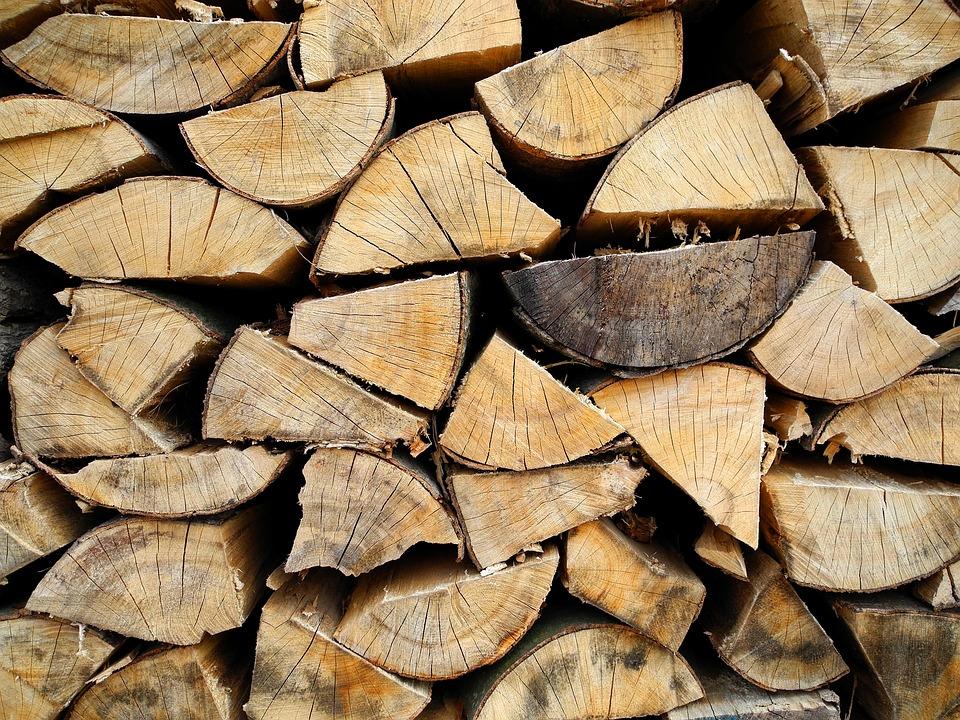 Wood, Heating, Texture, Log