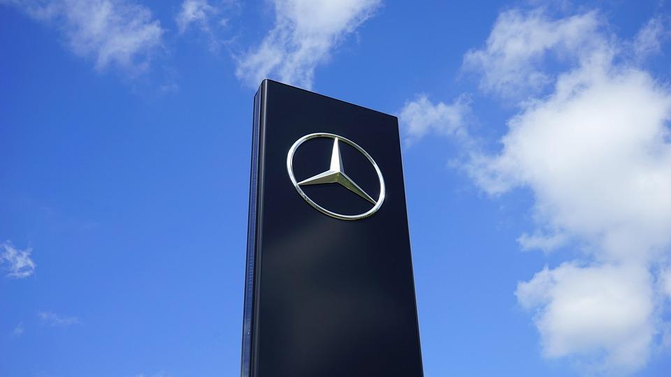 Mercedes-benz, Logo, Emblem, Mercedes, Black, Elegant