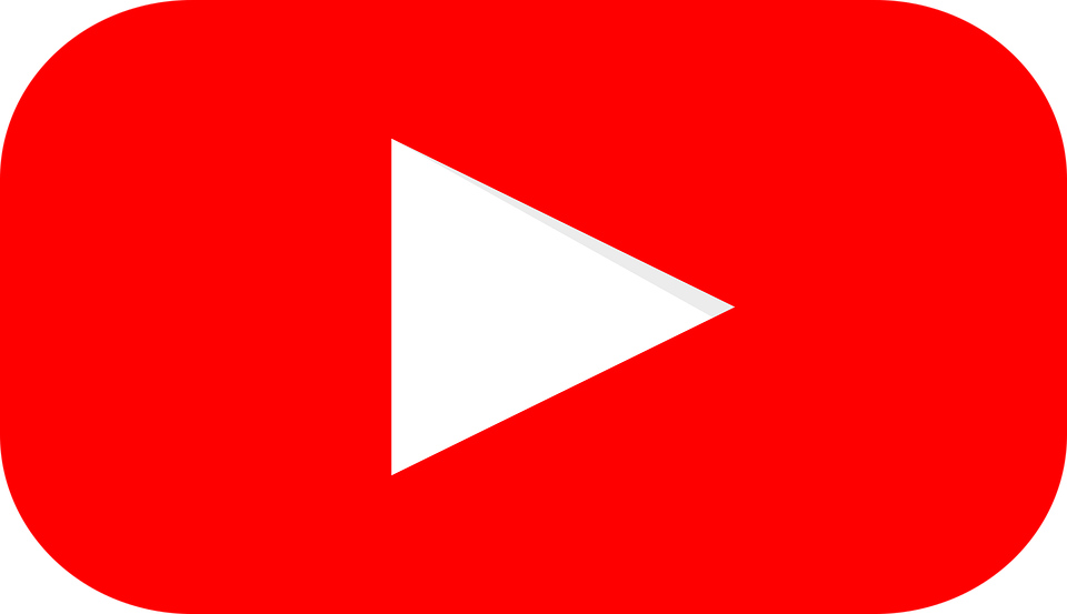 Youtube, Logo, Graphic, Red