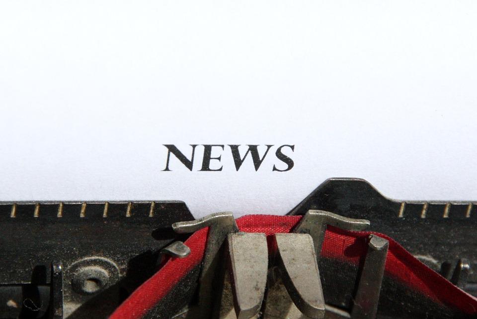 Typewriter, News, Logo, Title
