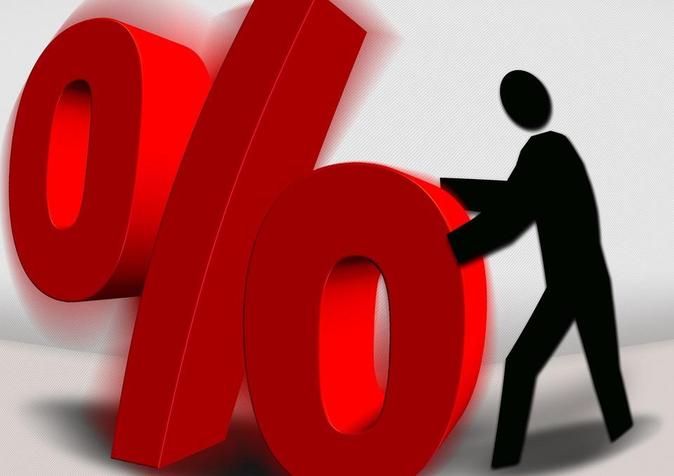 Percent, Percentage, Percent Sign, Value, Logo, Man