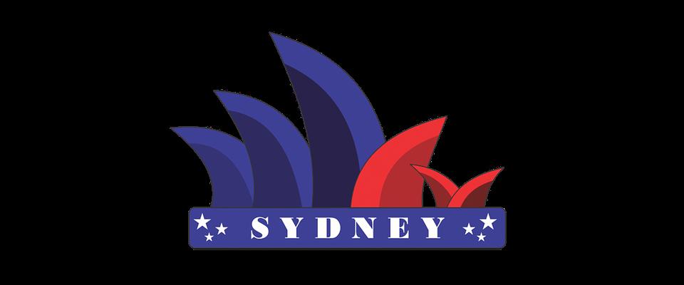Sidney, City, Logo, Monument, Tourism, Building
