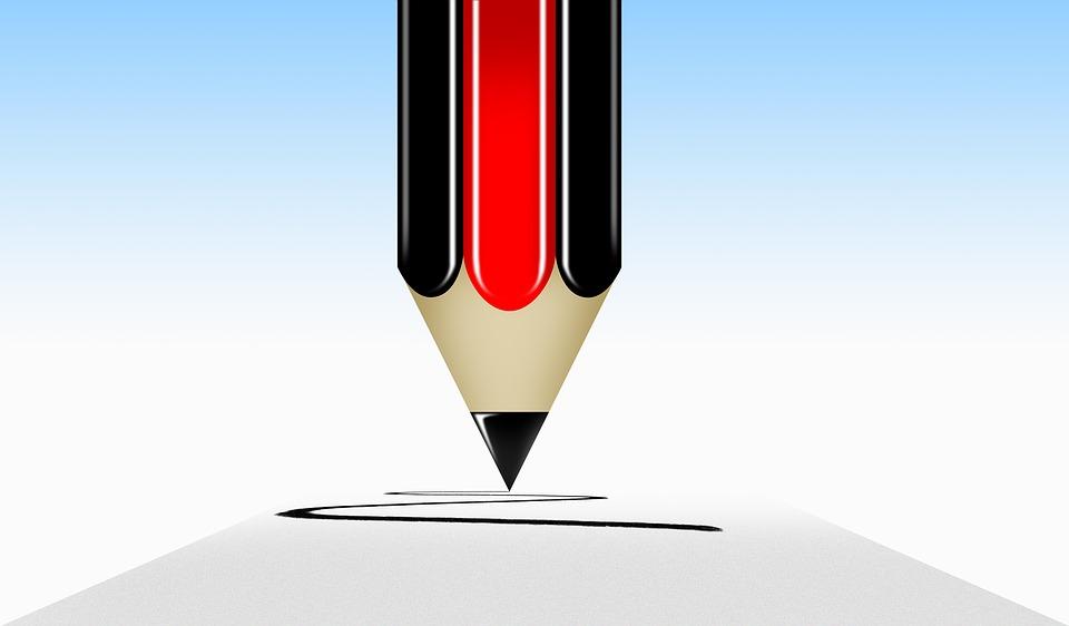 Pencil, Logos, Icon, Single, Pixel, Education, Drawing