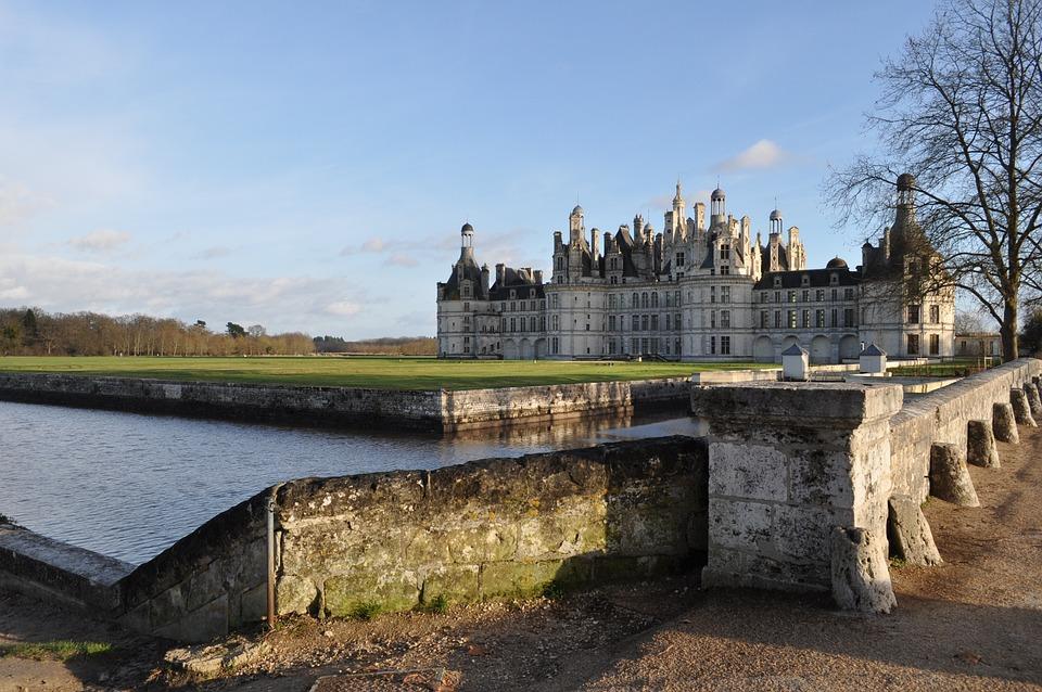 Castle, Château De La Loire, Loire Valley, Chambord