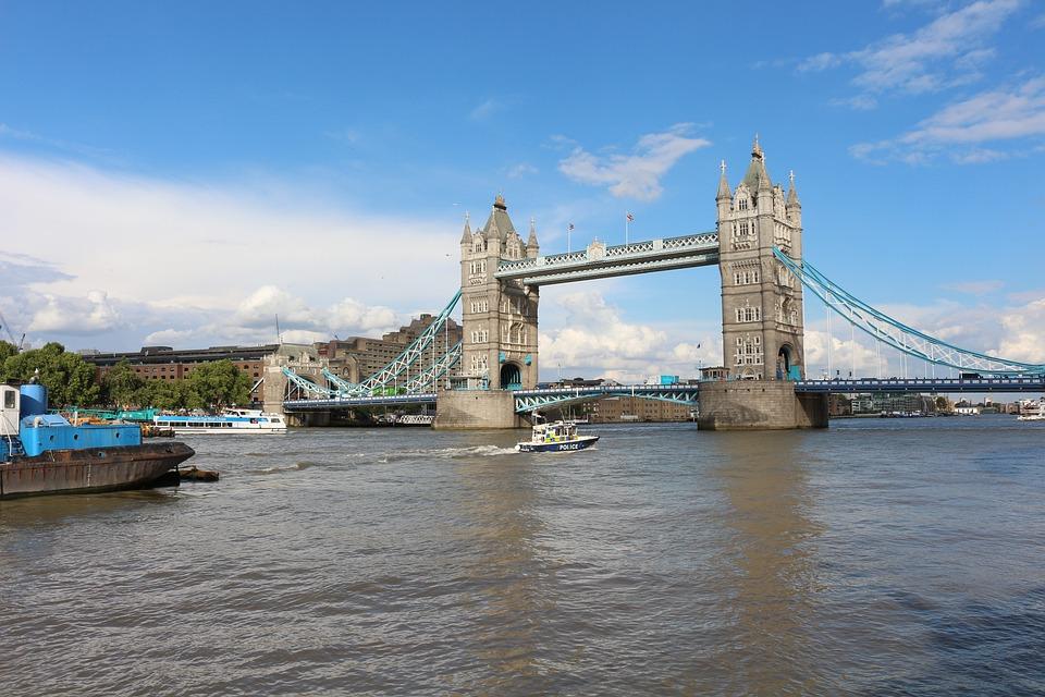 London, London Bridge, England, Architecture, Bridge