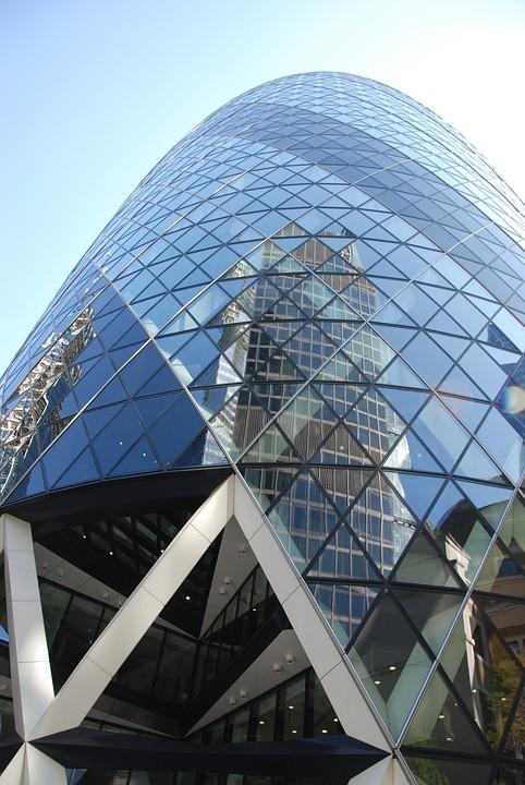 London, Skyscraper, Gherkin, Architecture, England