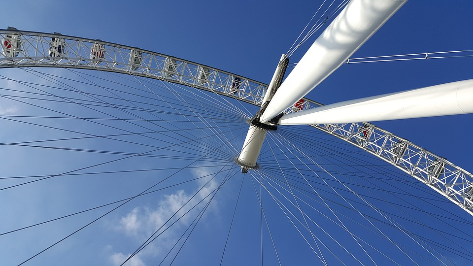 London, Ferris Wheel, Manege, Attraction, Wheel
