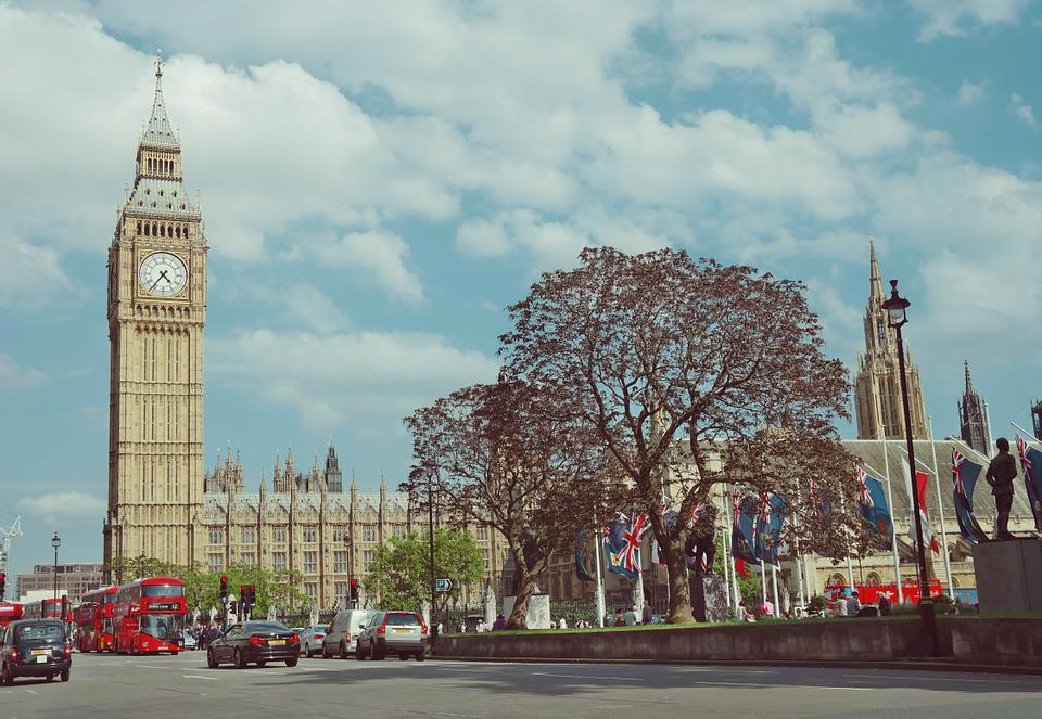Big Ben, London, Parliament, Tower, Clock, England