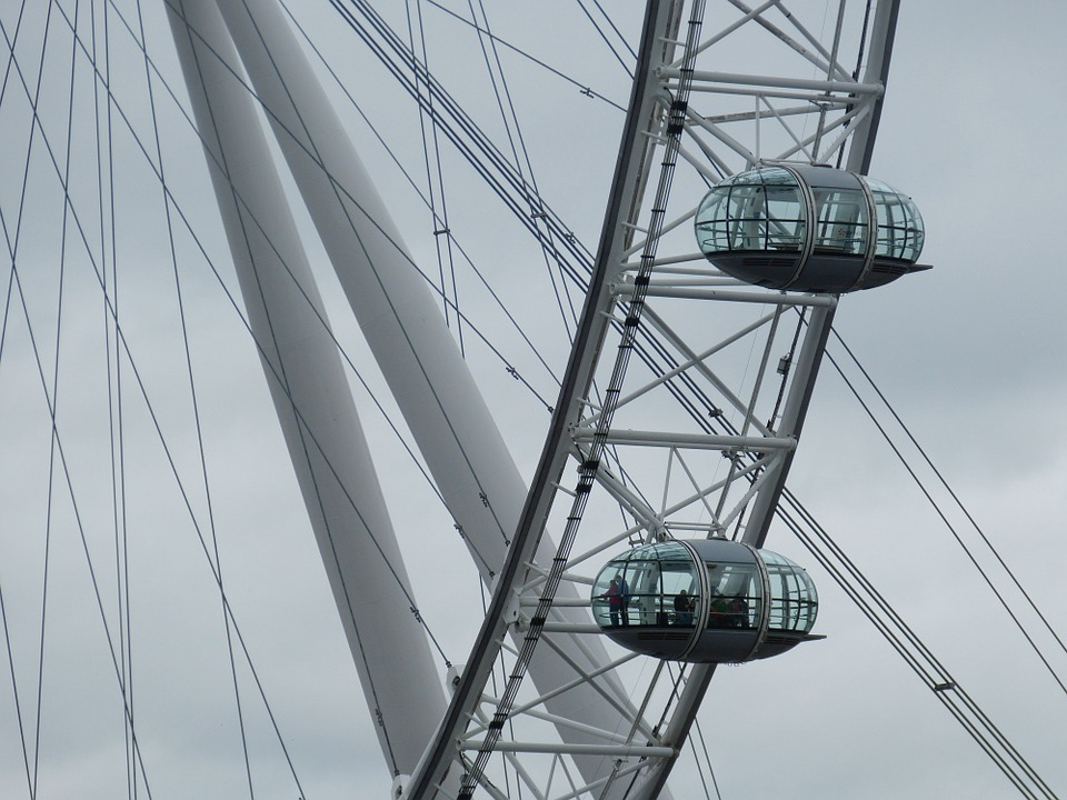 London, United Kingdom, England, Capital, Ferris Wheel